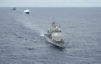 2nd Fleet Conducts Convoy Exercise in Atlantic