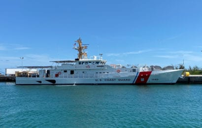 Bollinger Delivers 40th FRC to Coast Guard