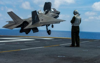 Japan Cleared for Possible Sale of F-35B Fighters for Shipboard Deployment