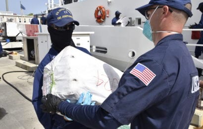 Coast Guard Offloads $12 million in Seized Cocaine