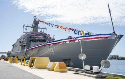 Littoral Combat Ship USS St. Louis Joins the Fleet