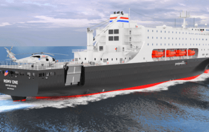GE to Supply Power, Propulsion for MARAD's National Security Multi-Mission Vessel