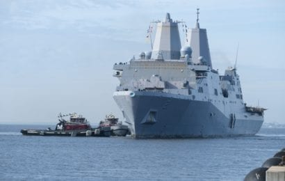 USS New York Shifts Homeport to Norfolk