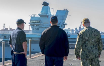 US DoD, UK Defence Ministry Sign Accord for Joint Carrier Strike Group Deployment
