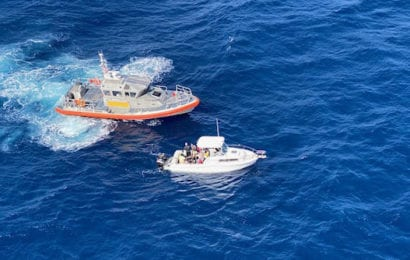 Coast Guard Interdicts 25 Migrants off West Palm Beach