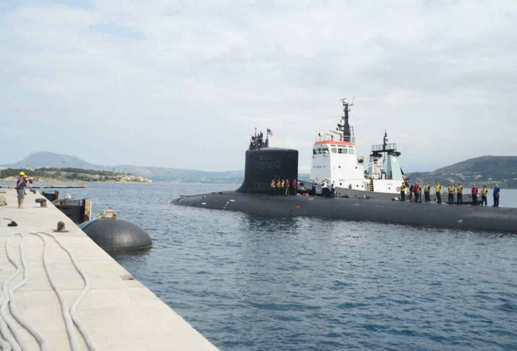 US Military News • USS New Mexico (SSN-779) Submarine Trains with U.S. Navy SEALs in Greece