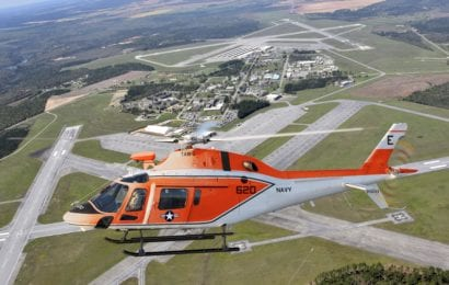 Navy Accepts Delivery of First TH-73A Training Helicopter